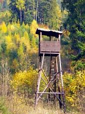 森の狩猟スタンド