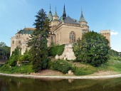 Bojniceの城、スロバキアの南側