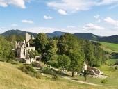 Sklabina城の保存