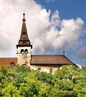 Orava城、スロバキアの時計塔