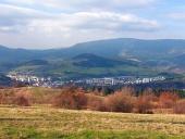 Dolny Kubinの町、 Orava地域、スロバキア