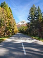 Velky Rozsutec 、スロバキアへの道