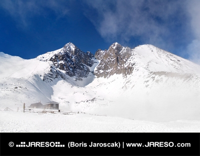 De Lomnicky Piek, Hoge Tatra, Slowakije