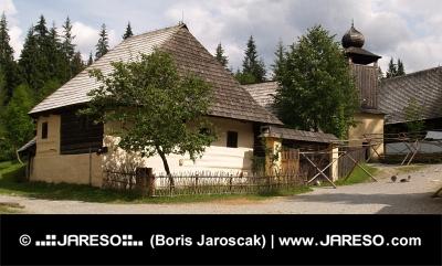 Oude houten architectuur