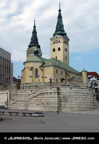 Kerk van de Heilige Drievuldigheid , Zilina
