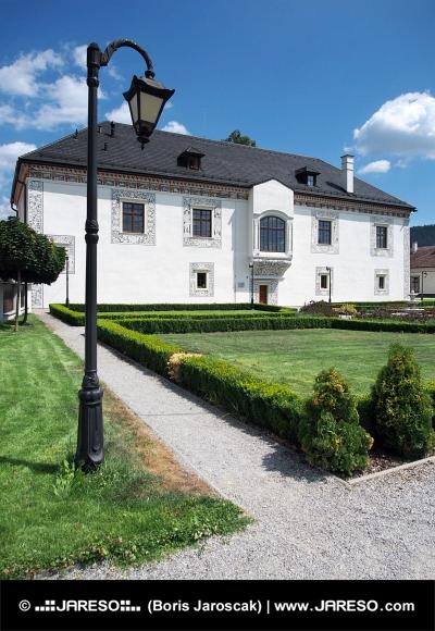 Wedding Palace in Bytca, Slowakije