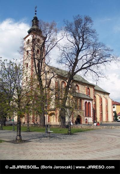 Kerk van de Assumptie in Banska Bystrica