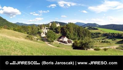 Sklabina Castle, Turiec regio, Slowakije