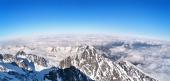 Panoramisch uitzicht op de Hoge Tatra, Slowakije