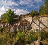 Ru?nes van het kasteel van Liptov, Slowakije