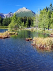 Nove Strbske Pleso in de Hoge Tatra
