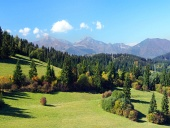Mala Fatra en bossen boven Jasenova dorp