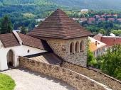 Fortificatie toren van het kasteel van Kremnica
