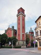 Nieuwe evangelische kerk in Kezmarok