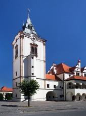 Toren van het oude stadhuis in Levoca