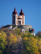 Golgotha ??op Ostry vrch heuvel, Slowakije