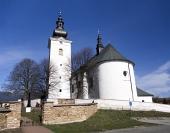 Kerk van St. George in Bobrovec, Slowakije