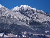 Massifs of High Tatras in winter