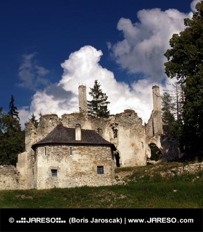 Sklabiňa Zamek i dwór