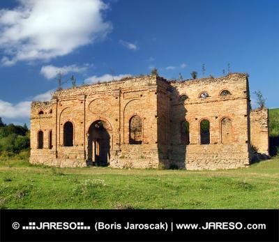 Ruiny Huty obiektu Franciszka, Słowacja