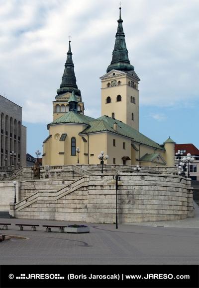 Kościół Świętej Trójcy, Zilina