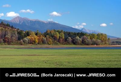 Rohacze i Krywań widziany z Bobrovník