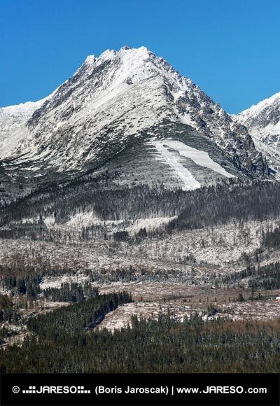 Predne Solisko szczyt w Tatrach Wysokich