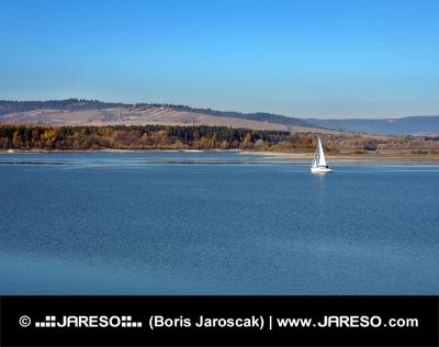Wody Orawskiej zbiornika, na Słowacji