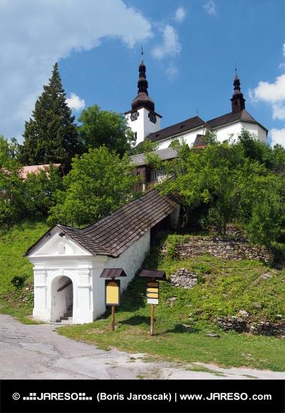 Wejście do kościoła Przemienienia Pańskiego