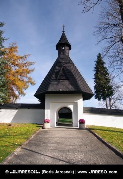 Brama do kościoła, na Słowacji, w Twardoszynie