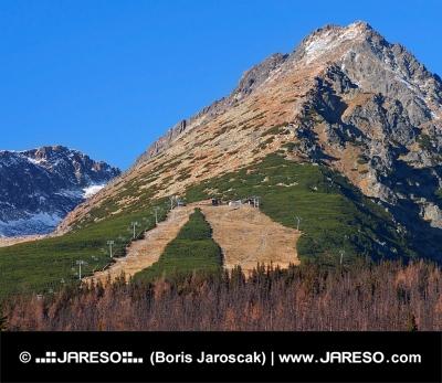 Jesień w predne Solisko, Tatrach Wysokich