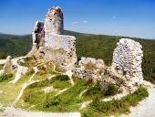Zamek Cachtice - Ruiny