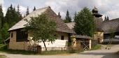 Stary drewniany architektura