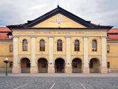 Zabytkowy Redoute (obecnie biblioteka) w Kežmarku