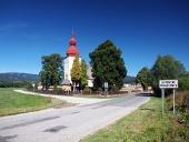 Kościół św Matiasovce Ladislava w Liptovske