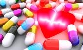 Pastile, inimă și EKG
