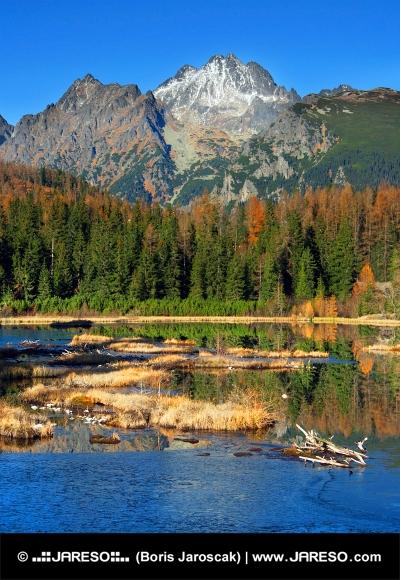 Nove Strbske Pleso, High Tatras, în toamna anului