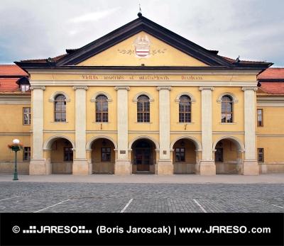Reduta istoric (prezent Library) în Kezmarok