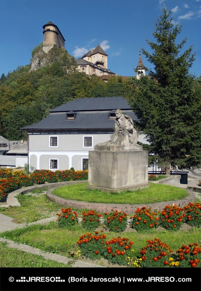 P. O. Hviezdoslav și Castelul Orava