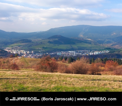 Orașul Dolny Kubin, regiune Orava, Slovacia