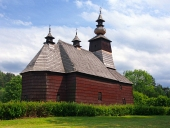 O biserică rar în Stara Lubovna, Spiš, Slovacia