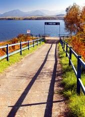 Port la Liptovska Mara Dam