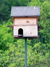 Birdhouse din lemn
