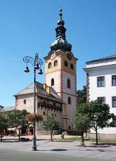 Castelul orașul Banska Bystrica in, Slovacia