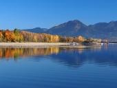 Reflectare a Tatra de Jos seara târziu