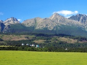 High Tatras ?i fâne?e în Slovacia