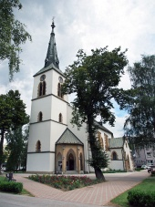 Biserica romano - catolică din Dolny Kubin