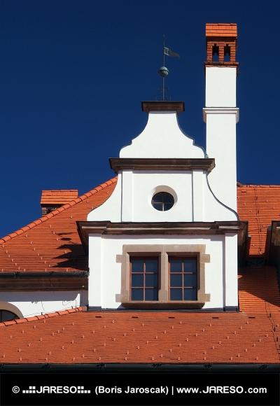 Уникальная средневековая крыша с трубой
