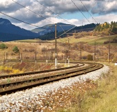 Пустая железная дорога