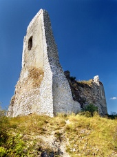 Чахтицкий Замок - Разрушенный Донжон